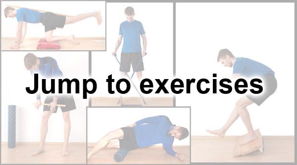 jumpers knee oefeningen