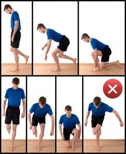 how to fix sore knees from exercise