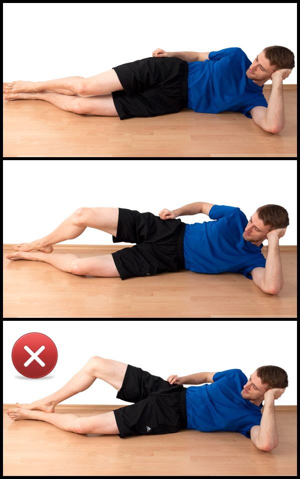 my five fingers knee exercise