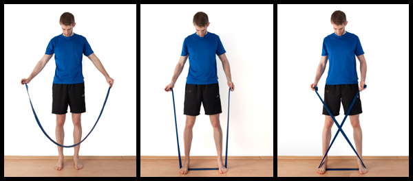 How to setup for the x-band-walk