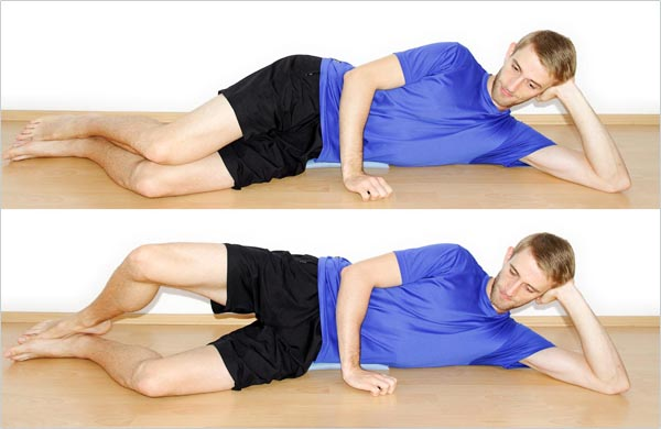Clamshells for hip external rotation strength