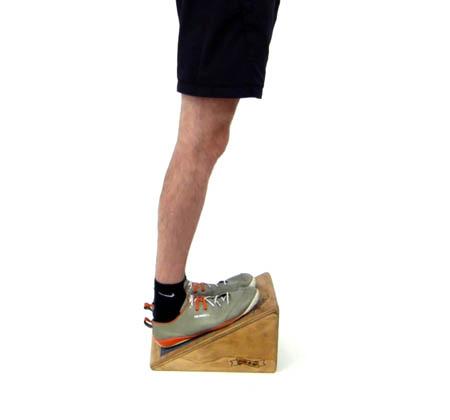slantboard calf stretch