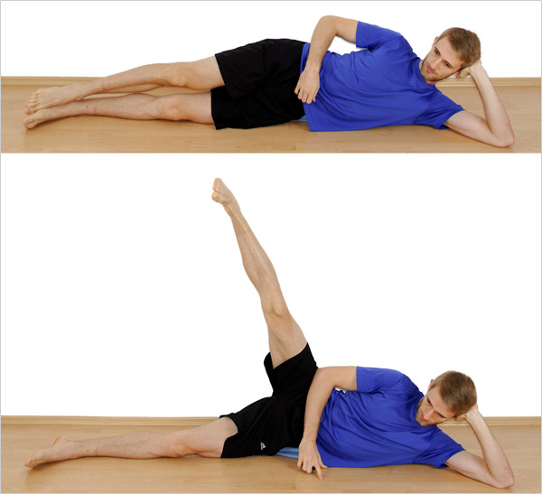 Jumper's Knee Exercise: Hip Abductions