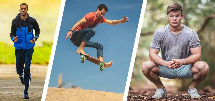 Running, jumping, and squatting can be painful if you have jumper's knee.
