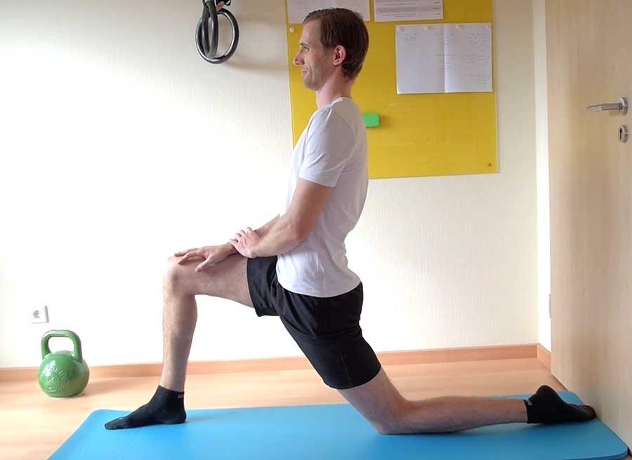 simple psoas stretch